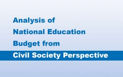 Analysis of national education Budget from civil society