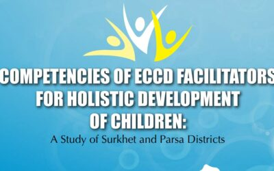 Competencies of ECCD Facilitators