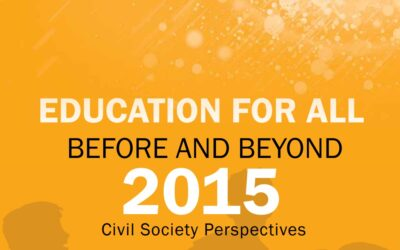 Education for All Assessment from Civil Society Perspective