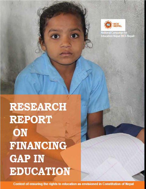 Financing GAP in Education Sector.