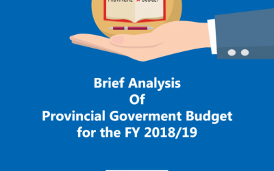 Provincial Budget Analysis 2018/19
