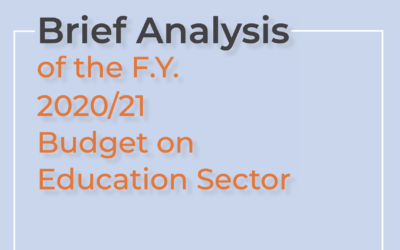 Budget Analysis booklet final