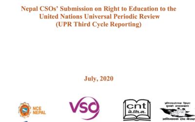 UPR Report – NCE-Nepal